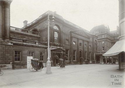 Pump Room Exterior c. 1910
