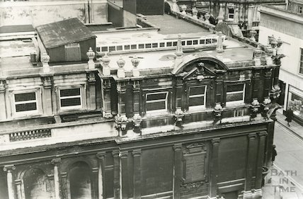 The Pump Rooms (Stall Street and York Street corner) 1969