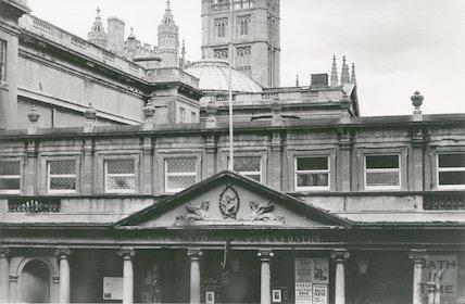 The Pump Room, Bath (Stall Street entrance) 1969