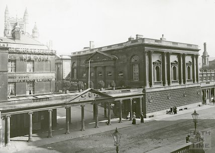 Colonnade and Pump Room c.1915