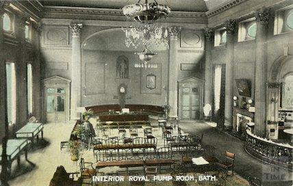 Interior of the Pump Room, c.1910
