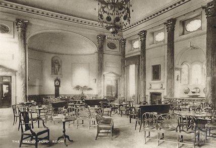 Interior of the Grand Pump Room, c.1910