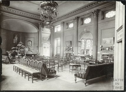 Pump Room interior, c.1910