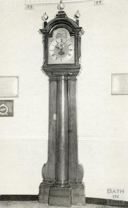 The Tompion Clock, Pump Room, Bath c.1980s