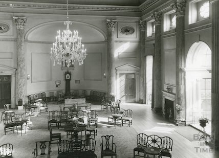The Pump Room interior, date unknown