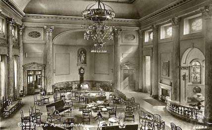 Pump Room interior c. 1938