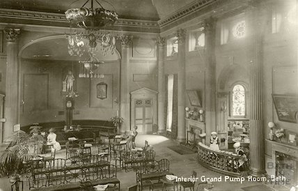 Pump Room interior c. 1910