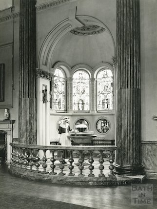 Pump Room interior, Mineral Water Fountain c.1915