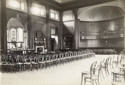 The Pump Room interior, Bath c.1890