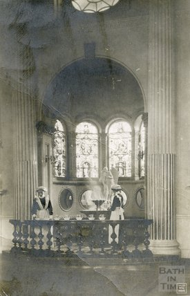 Pump Room, Mineral Water Fountain c. 1912