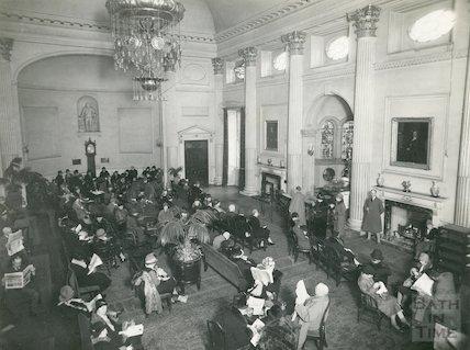Pump Room interior c. 1928
