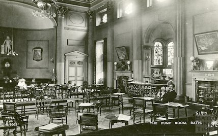Pump Room interior c. 1938