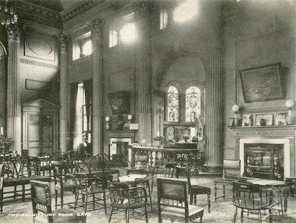 Grand Pump Room Interior, c.1915