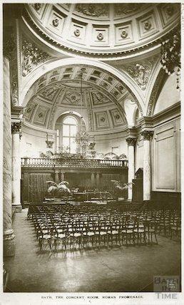 Concert Room, Pump Room (interior looking North), c.1920s?