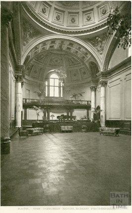 Concert Room, Pump Room (interior looking North), c.1920s?