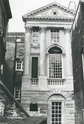 Ralph Allen's Townhouse, after restoration 1976