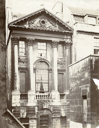 Ralph Allen's town house behind Terrace Walk, Bath c.1903