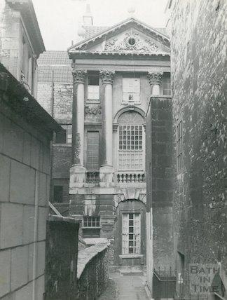 Ralph Allen's Townhouse facade, c.1914