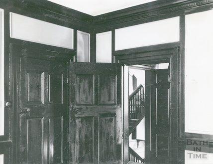 Ralph Allen's Townhouse interior, c.1920s?