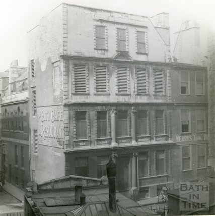 St. James Street (South) - Cruttwell's printing office, c.1920
