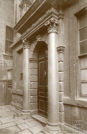 Beau Nash's House, Sawclose, c.1900