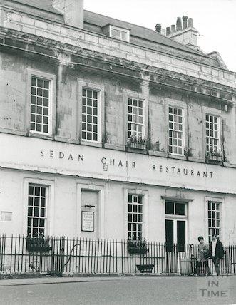 Beau Nash's House, Sawclose - now the Sedan Chair Restaurant July 1972