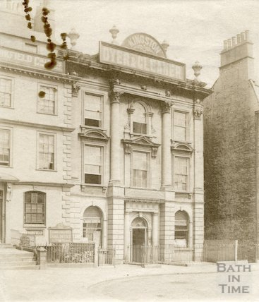 Nassau House, Orange Grove, Bath c.1896