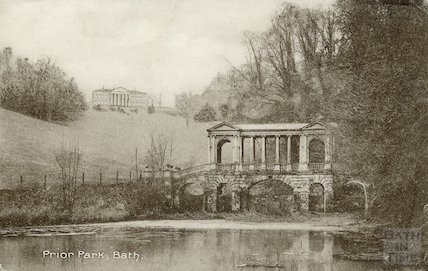 Prior Park and Palladian Bridge, c.1910