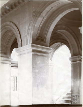 Entrance hall to St. Paul's Chapel, Prior Park, Bath c.1903