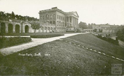 Prior Park - general view, c.1910