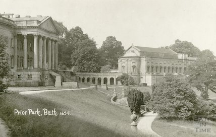 Prior Park - general view looking South - West c.1912