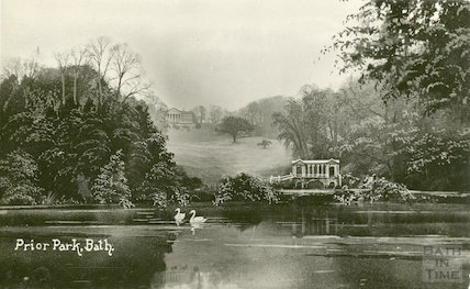 Prior Park - Palladian Bridge c.1915