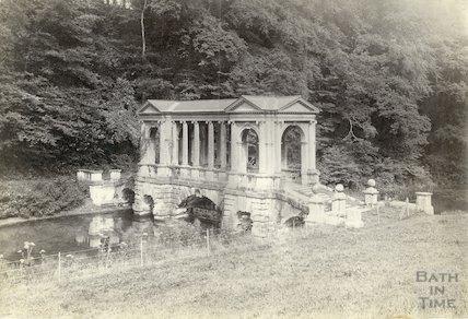 Prior Park - Palladian Bridge, c.1900