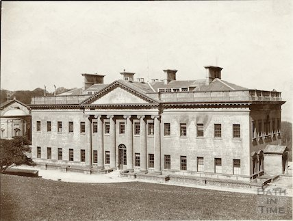 South side of Prior Park, Bath c.1903