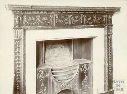 Fireplace, Argyle Street, Bath c.1903