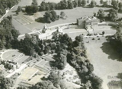 c.1950s Aerial view of Prior Park