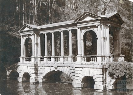 Palladian Bridge, Prior Park, Bath c.1903
