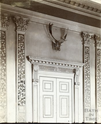 Dining room doorway, Prior Park, Bath c.1903