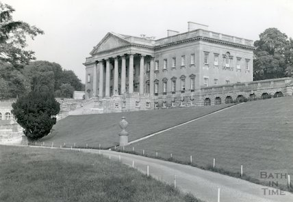 Prior Park - main buildings from North, c.1960s?
