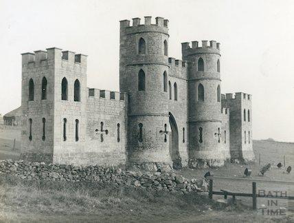 Sham Castle, West view, c.1950s?