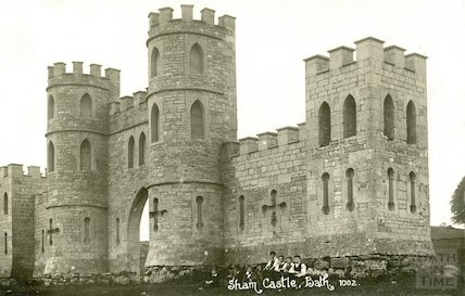 Sham Castle, Bath, c.1910