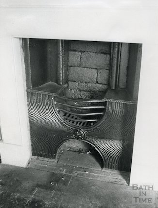 Marshall Wade's House, Abbey Church Yard Fireplace, 1976