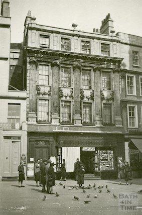 Marshall Wade's House, Abbey Church Yard, c.1940s