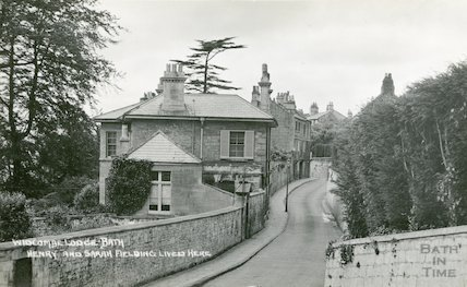 Henry Fielding's House, Widcombe Lodge, Bath, c.1920s