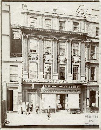 Marshall Wade's House, 14, Abbey Church Yard, Bath c.1903