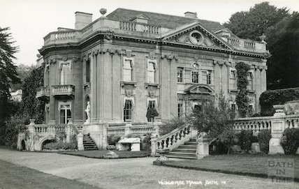 Widcombe Manor, South West view c.1930