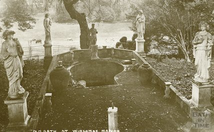 The Old (Cold) Bath at Widcombe Manor, c.1930s
