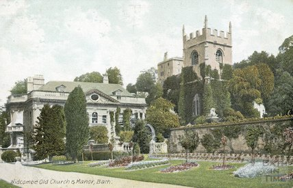 Widcombe Old Church and Manor, Bath, c.1910