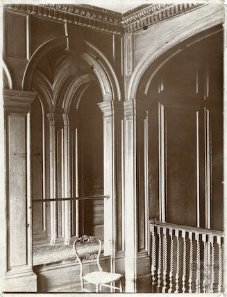 Staircase, Widcombe Manor, Bath c.1903