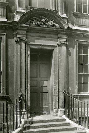 Doorway of General Wolfe's House, Trim Street, c.1930s?